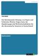 Die Reichskanzler Brüning, von Papen und Schleicher. Welche Folgen hatte ihr Handeln gegen die Weltwirtschaftskrise für die ökonomische Situation in Deutschland? - Tim Diehl