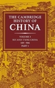 The Cambridge History of China: Volume 3, Sui and T'ang China, 589-906 AD, Part One - Denis C. Twitchett