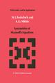 Symmetries of Maxwell's Equations - W. I. Fushchich; A. G. Nikitin