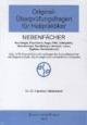 Original-Überprüfungsfragen für Heilpraktiker Nebenfächer