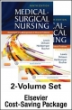 Medical-Surgical Nursing - Two-Volume Text and Elsevier Adaptive Quizzing Package