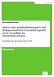 Analyse einer gesellschaftsbezogenen und ökologieorientierten Unternehmenspolitik auf der Grundlage des Stakeholderkonzeptes - Ronald Warnecke