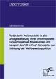 Veränderte Preismodelle in der Anlageberatung einer Universalbank für vermögende Privatkunden am Beispiel des 'All in Fee'-Konzeptes zur Stärkung der Wettbewerbsposition - Ralf Klitzschmüller