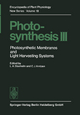 Photosynthesis III
