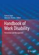 Handbook of Work Disability