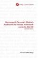 Hermogenis Tarsensis Rhetoris Acvtissimi De ratione inueniendi oratoria, libri IIII - Carl von Reifitz