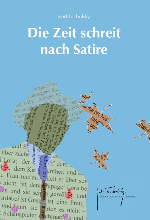 Cover Die Zeit schreit nach Satire