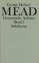 Gesammelte Aufsätze - George Herbert Mead; Hans Joas