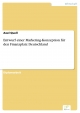 Entwurf einer Marketing-Konzeption für den Finanzplatz Deutschland - Axel Quell