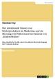 Der intentionale Einsatz von Köderprodukten im Marketing und die Messung von Präferenzen bei Existenz von 'Ködereffekten' - Christian Frey