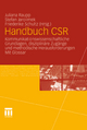 Handbuch CSR - Juliana Raupp;  Juliana Raupp;  Stefan Jarolimek;  Stefan Jarolimek;  Friederike Schultz;  Friederike Schultz