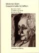 Melanie Klein: Gesammelte Schriften / Band IV,2: Darstellung einer Kinderanalyse, Teil 2 - Melanie Klein; Ruth Cycon; Hermann Erb