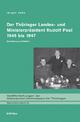 Der Thüringer Landes- und Ministerpräsident Rudolf Paul 1945 bis 1947