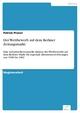 Der Wettbewerb auf dem Berliner Zeitungsmarkt - Patrick Proner