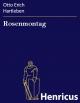 Rosenmontag - Otto Erich Hartleben