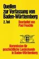 Quellen/ Verfassung Ba.-Württ. Tl.2 VV 3