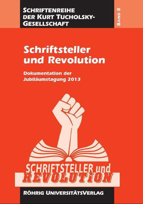 Cover Schriftsteller und Revolution