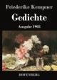 Gedichte - Friederike Kempner