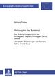 Philosophie der Existenz - Gerhard Treiber