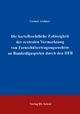 Die kartellrechtliche Zulässigkeit der zentralen Vermarktung von Fernsehübertragungsrechten an Bundesligaspielen durch den DFB - Gernot Archner