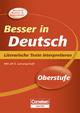 Besser in Deutsch - Oberstufe - Thomas Brand