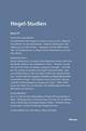 Hegel-Studien Band 24