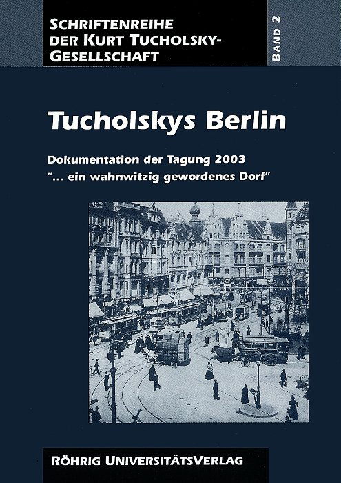 Cover Tucholskys Berlin