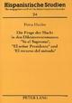 Die Frage der Macht in den Diktatorenromanen «Yo el Supremo», «El señor Presidente» und «El recurso del método» - Petra Heider