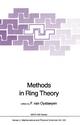 Methods in Ring Theory - F. van Ostaeyen