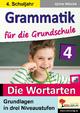 Grammatik für die Grundschule - Die Wortarten / Klasse 4 - Sylvia Nitsche