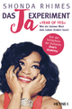 9783453201309 - Shonda Rhimes: Das Ja-Experiment – Year of Yes - Buch
