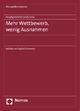 Hauptgutachten 2008/2009 - Mehr Wettbewerb, wenig Ausnahmen - Monopolkommission