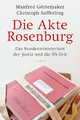 9783406697685 - Manfred Görtemaker; Christoph Safferling: Die Akte Rosenburg - Buch
