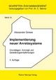 Implementierung neuer Anreizsysteme - Alexander Grewe
