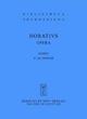 Opera - Quintus Horatius Flaccus; Friedrich Klingner
