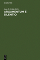 Argumentum e Silentio - Amy D. Colin