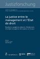 La justice entre le management et l'État de droit - Christof Schwenkel