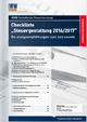 Checkliste Steuergestaltung 2016/2017