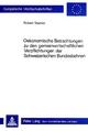 Ökonomische Betrachtungen zu den gemeinwirtschaftlichen Verpflichtungen der schweizerischen Bundesbahnen - Robert Stamm