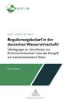 Regulierungsbedarf in der deutschen Wasserwirtschaft? - Marc Derhardt
