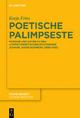 Poetische Palimpseste - Katja Fries
