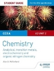 CCEA A2 Unit 2 Chemistry Student Guide: Analytical, Transition Metals, Electrochemistry and Organic Nitrogen Chemistry - Alyn G. Mcfarland