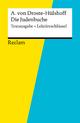 Textausgabe + Lektüreschlüssel. Annette von Droste-Hülshoff: Die Judenbuche - Bernd Völkl;  Annette von Droste-Hülshoff