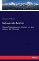 Mykologische Berichte: Übersicht der neuesten Arbeiten auf dem Gebiete der Pilzkunde