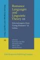 Romance Languages and Linguistic Theory 10 - Fieis Alexandra Fieis;  Carrilho Ernestina Carrilho;  Lobo Maria Lobo;  Pereira Sandra Pereira
