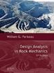 Design Analysis in Rock Mechanics