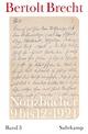 Notizbücher - Bertolt Brecht; Martin Kölbel; Peter Villwock