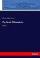 The Greek Philosophers - Alfred William Benn