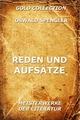 Reden und Aufsätze - Oswald Spengler