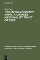 The revolutionary army. A Chinese nationalist tract of 1903 - Jung Tsou